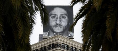 Nike Uses Controversial Football Quarterback Colin Kaepernick In New Ad Campaign