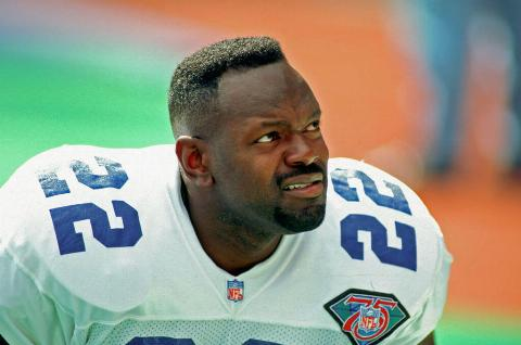 emmit smith is the best 22