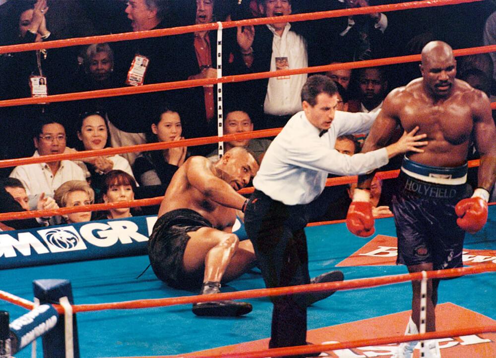 Evander Holyfield v Mike Tyson