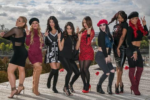 'Total Divas' Paris Photocall At La Maison Blanche