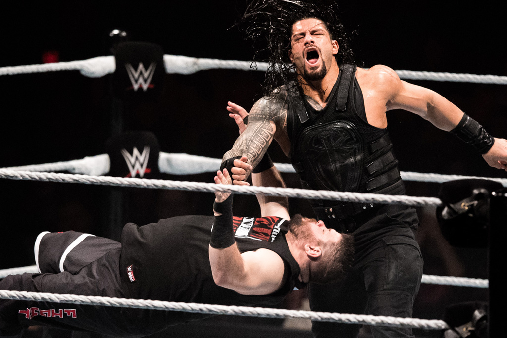 wwe royal rumble roman reigns