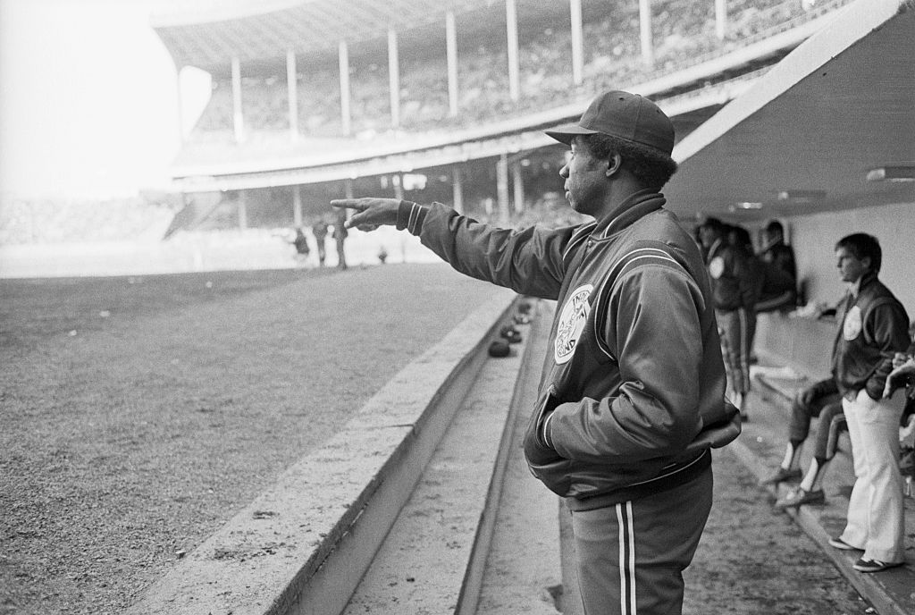frank robinson player manager