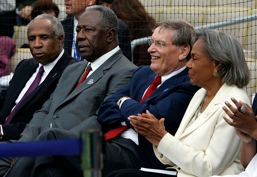 frank robinson and bud selig working together mlb