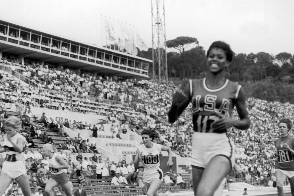 wilma rudolph female sports pioneer track olympics