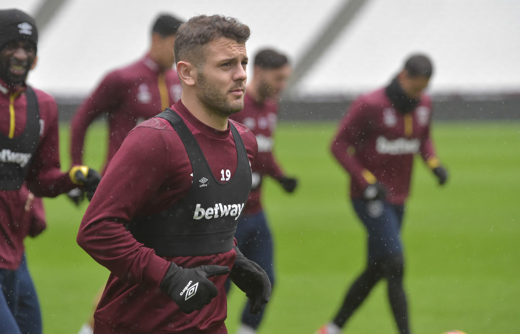 jack wilshere west ham charity football soccer