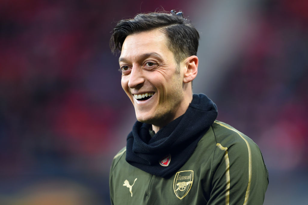 mesut ozil charitable football soccer star