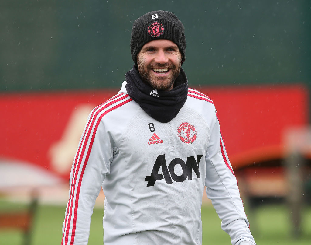 juan mata manchester united charity football soccer