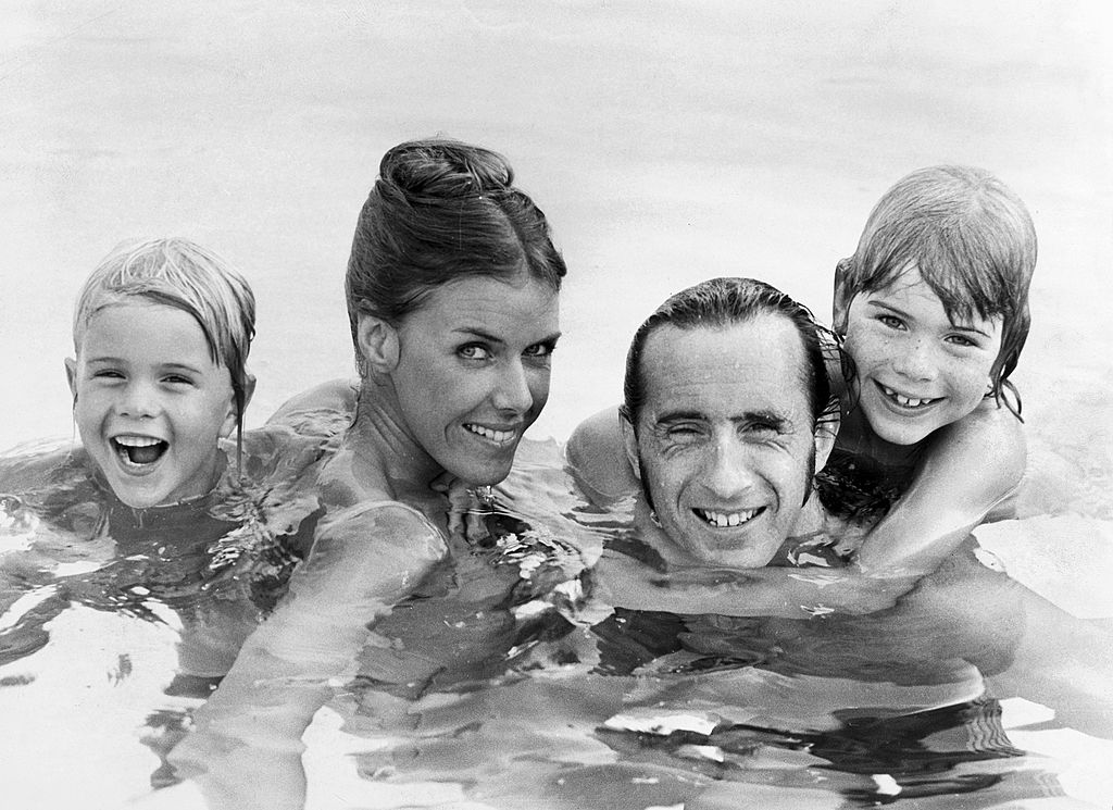 The family of Jackie Stewart