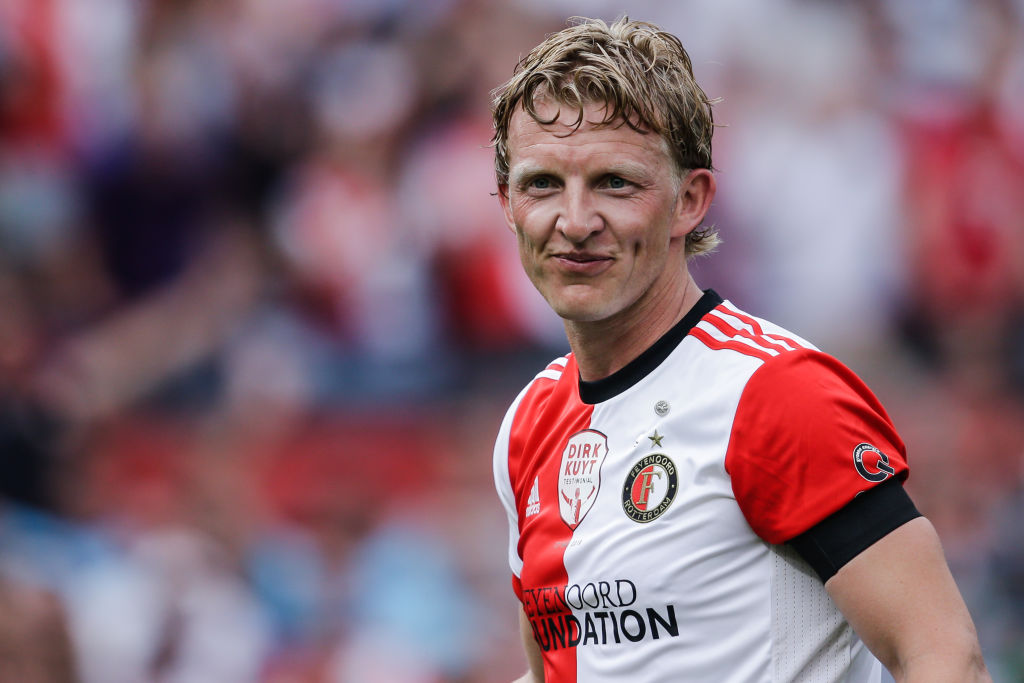 dirk kuyt football charity soccer netherland