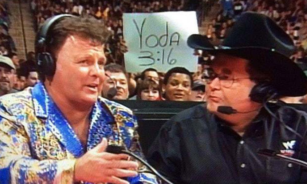 star wars wrestling wwe funny fan signs
