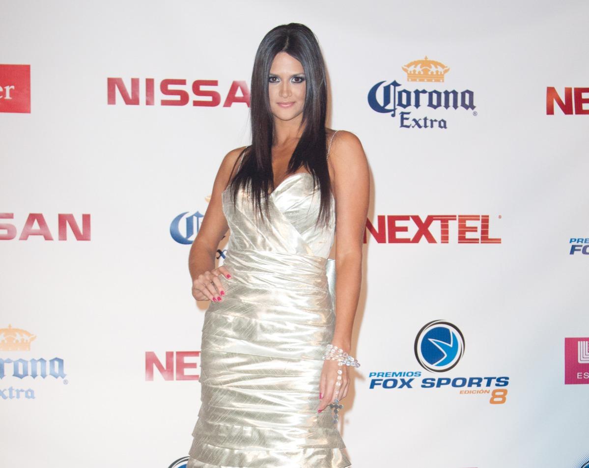 Leryn Franco attends the 8th Annual Premios Fox Sports Awards
