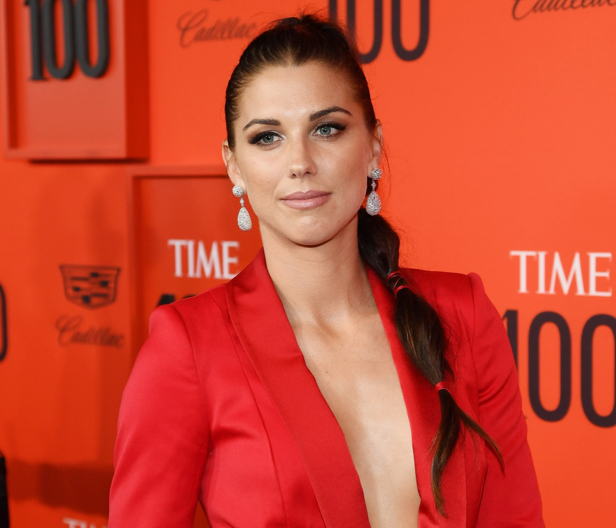 Alex Morgan attends the TIME 100 Gala Red Carpet