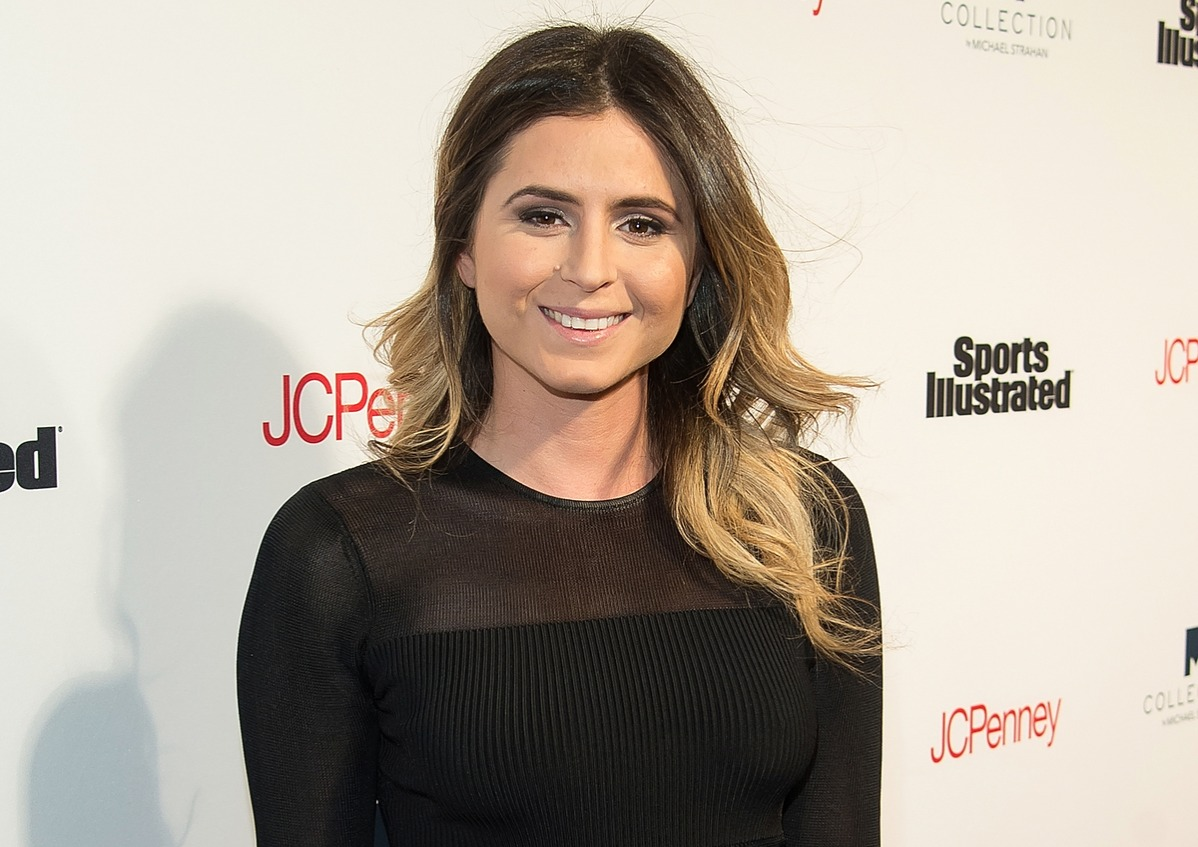 Surfer Anastasia Ashley attends the Sports Illustrated's Fashionable 50 NYC Event