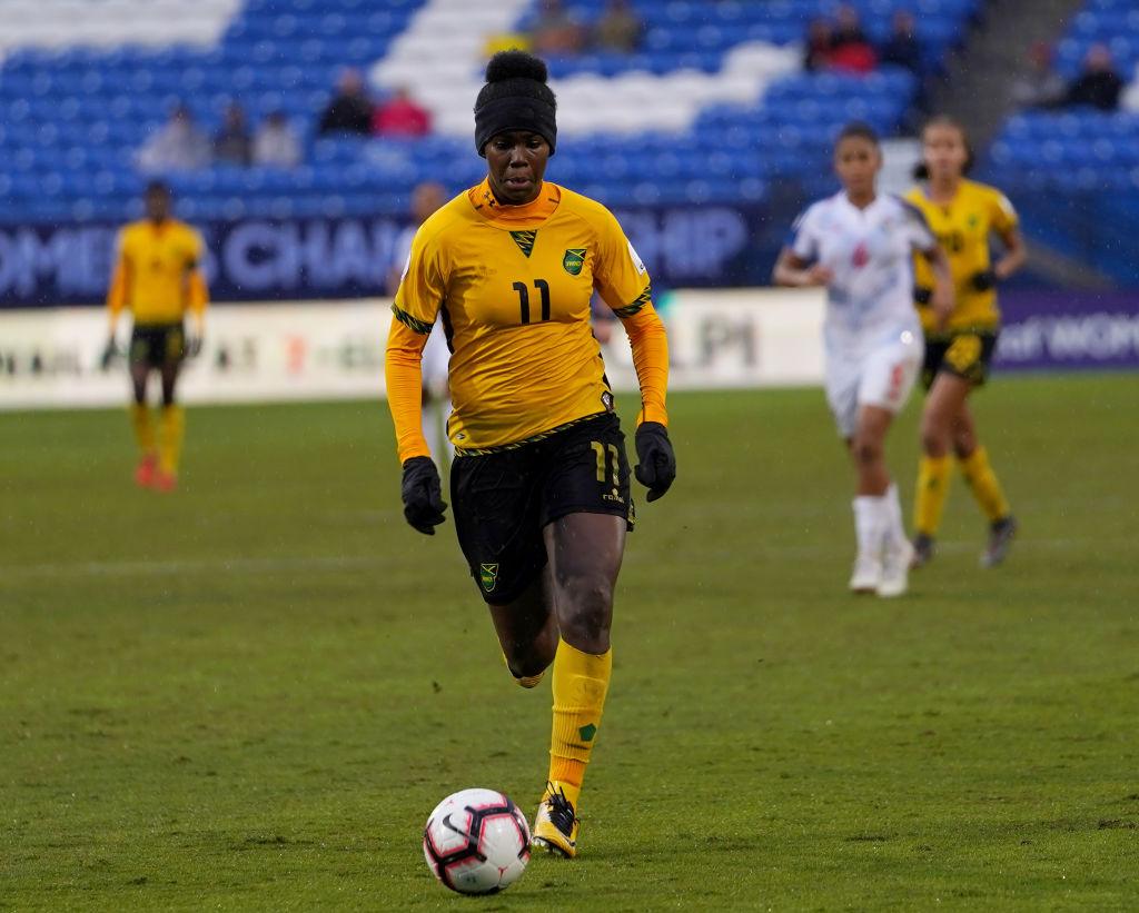 Khadija Shaw Jamiaca Women's Soccer
