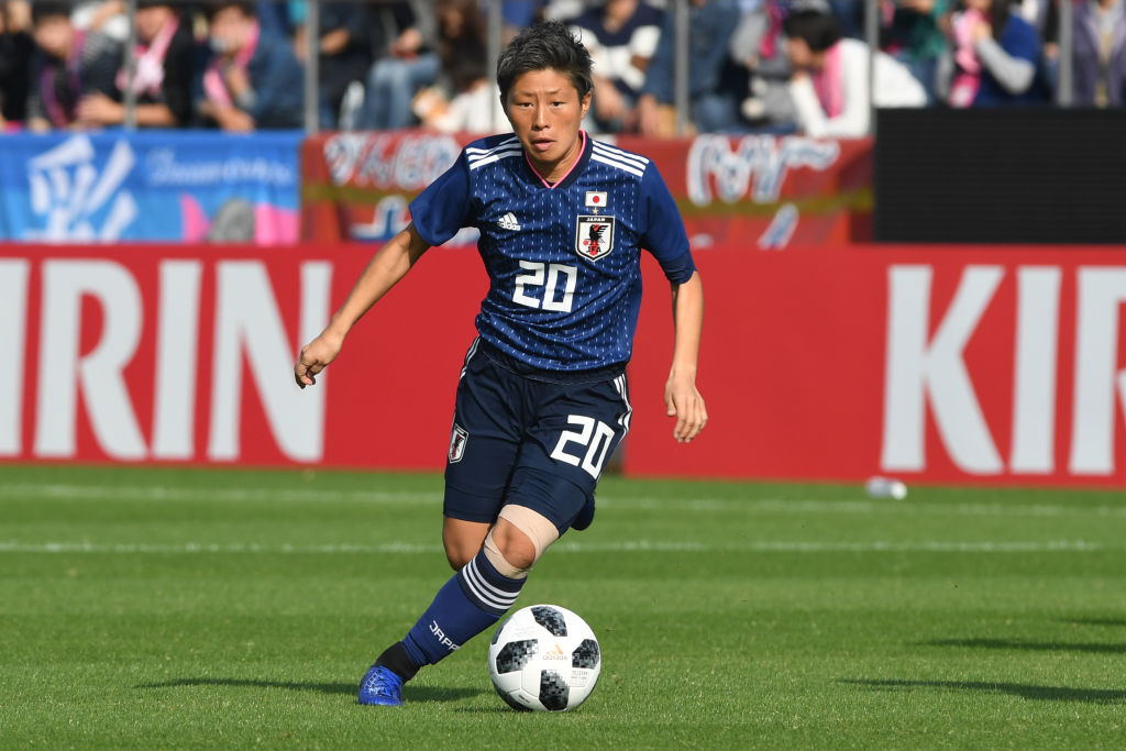 Kumi Yokoyama Team Japan Womens World Cup