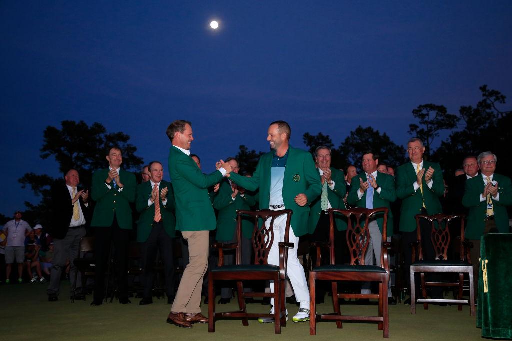 green jacket winners