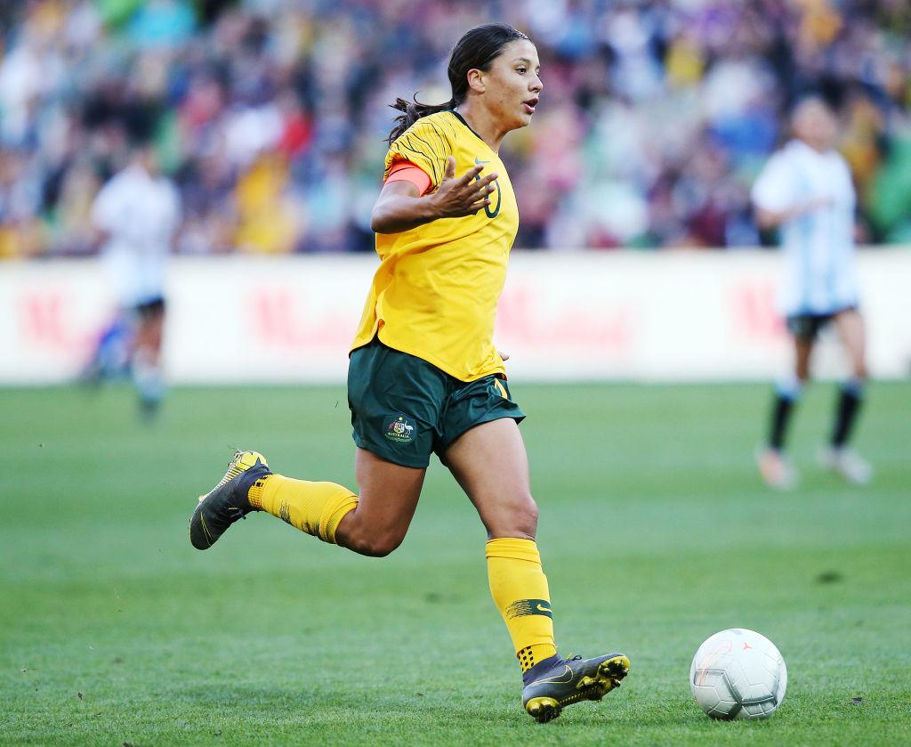 Sam Kerr Women's Soccer For Austrailia