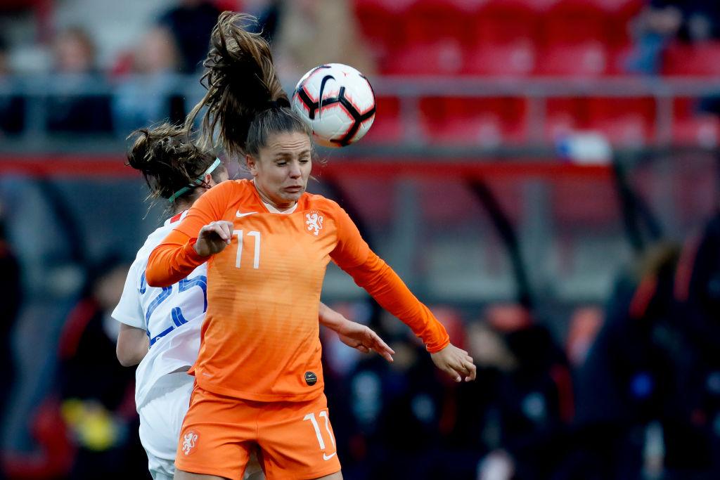 Lieke Martens Women's Soccer Netherlands