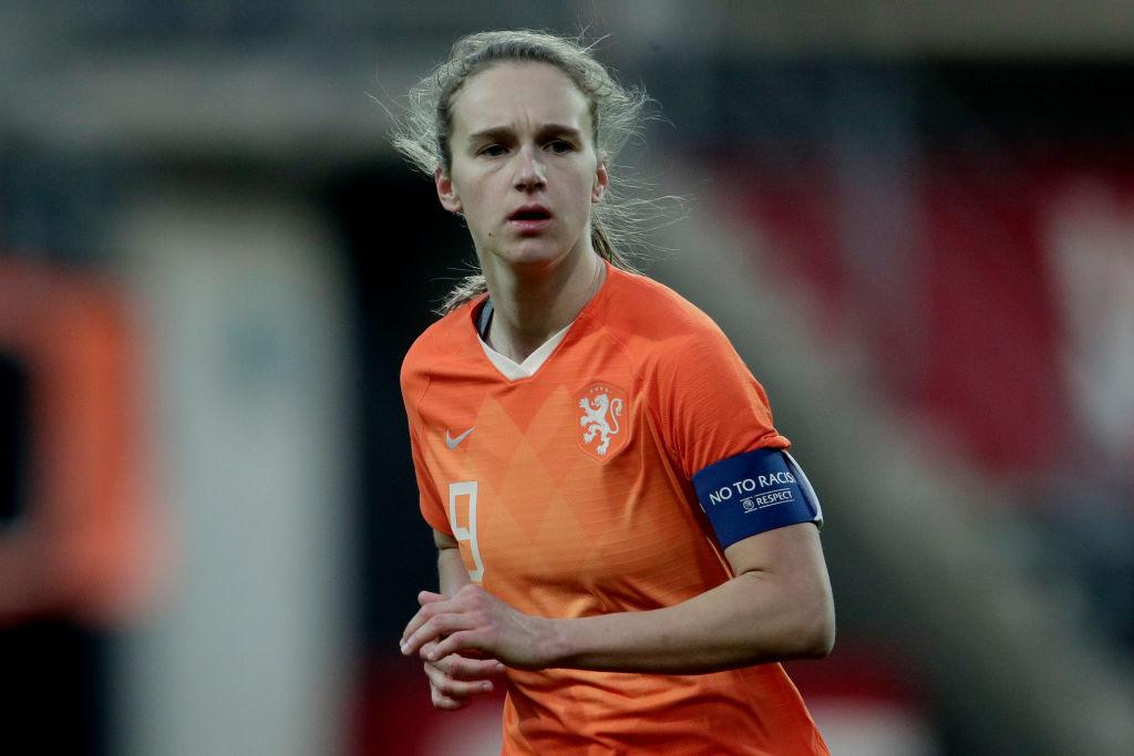 Vivianne Miedema Netherlands Women's Soccer