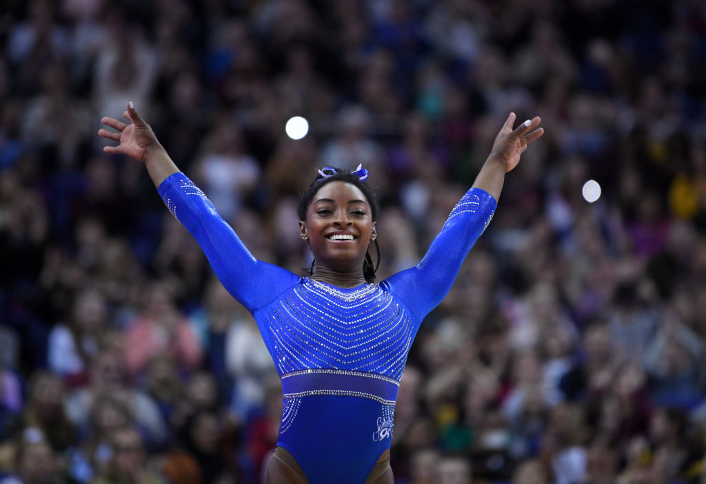 Simone Biles USA Gymnastics Winner