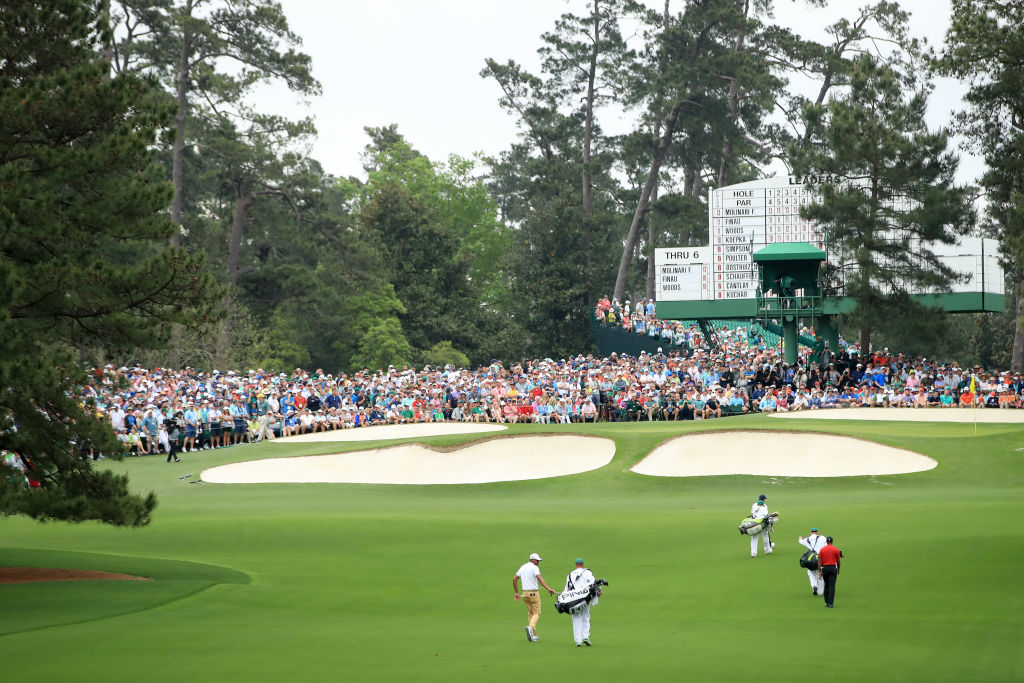 augusta nation golf club golf courses ranked