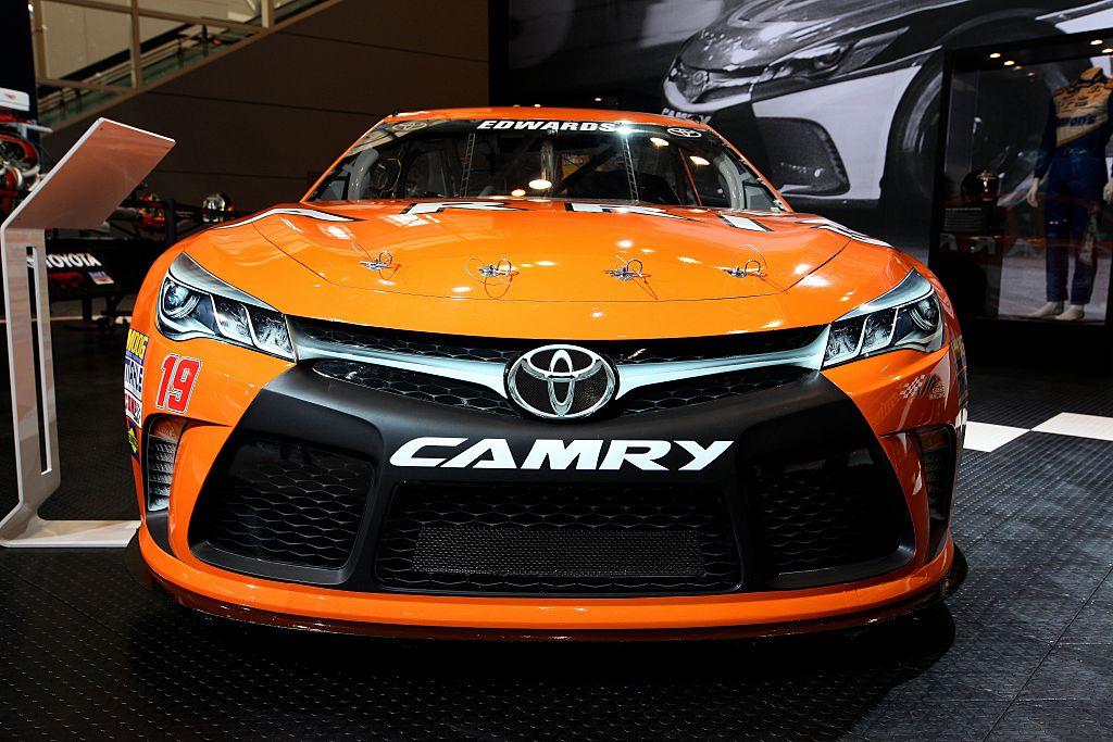 kyle busch camry nascar real car