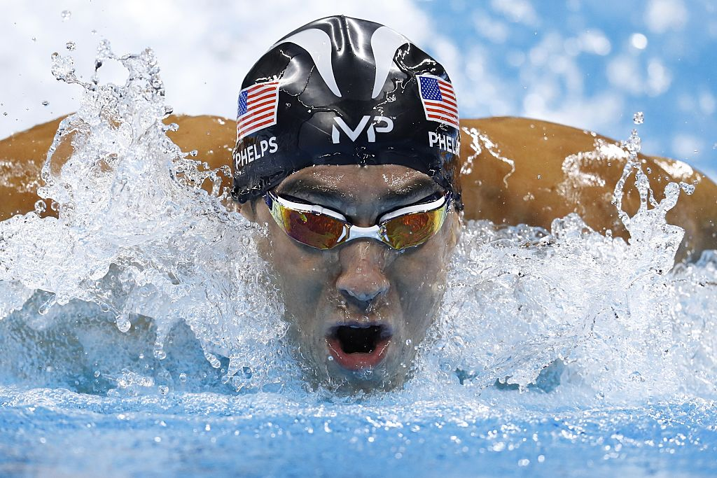 Michael Phelps Swimming In Olympics