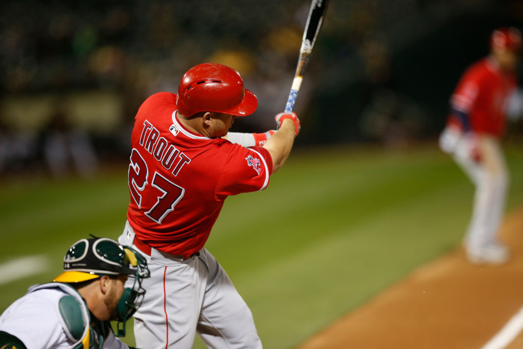 Mike Trout MLB 21st Century Athlete