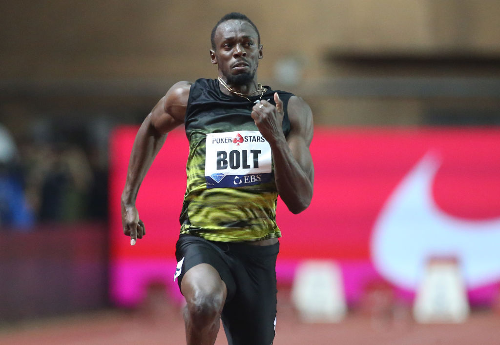 Usain Bolt Running 21st Century Athlete