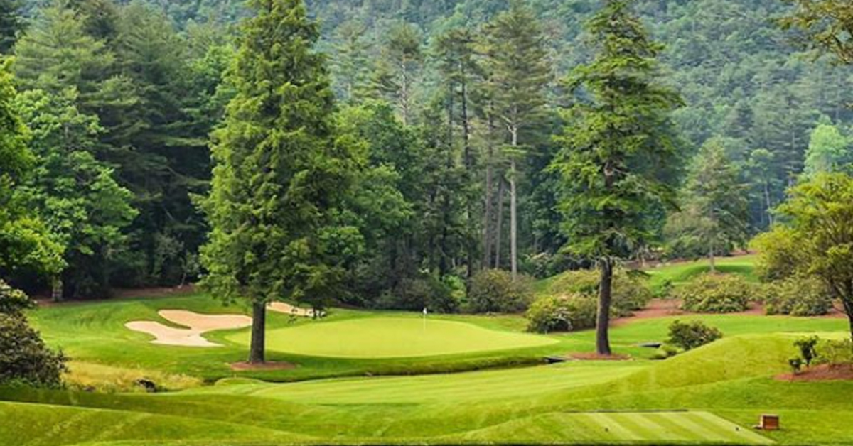 wade hampton golf club golf courses ranked
