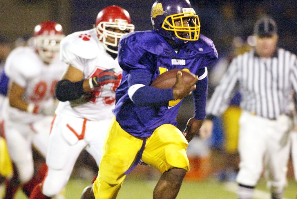 Marshawn In High School Football running back