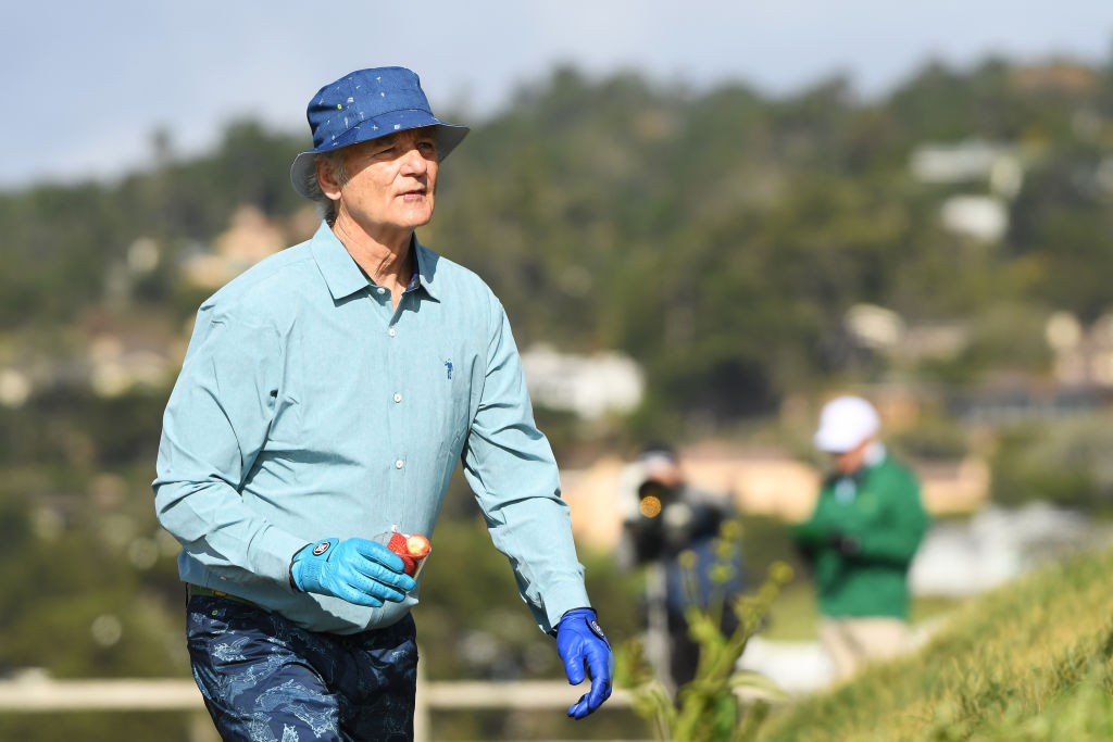 bill murray best celebrity golfers