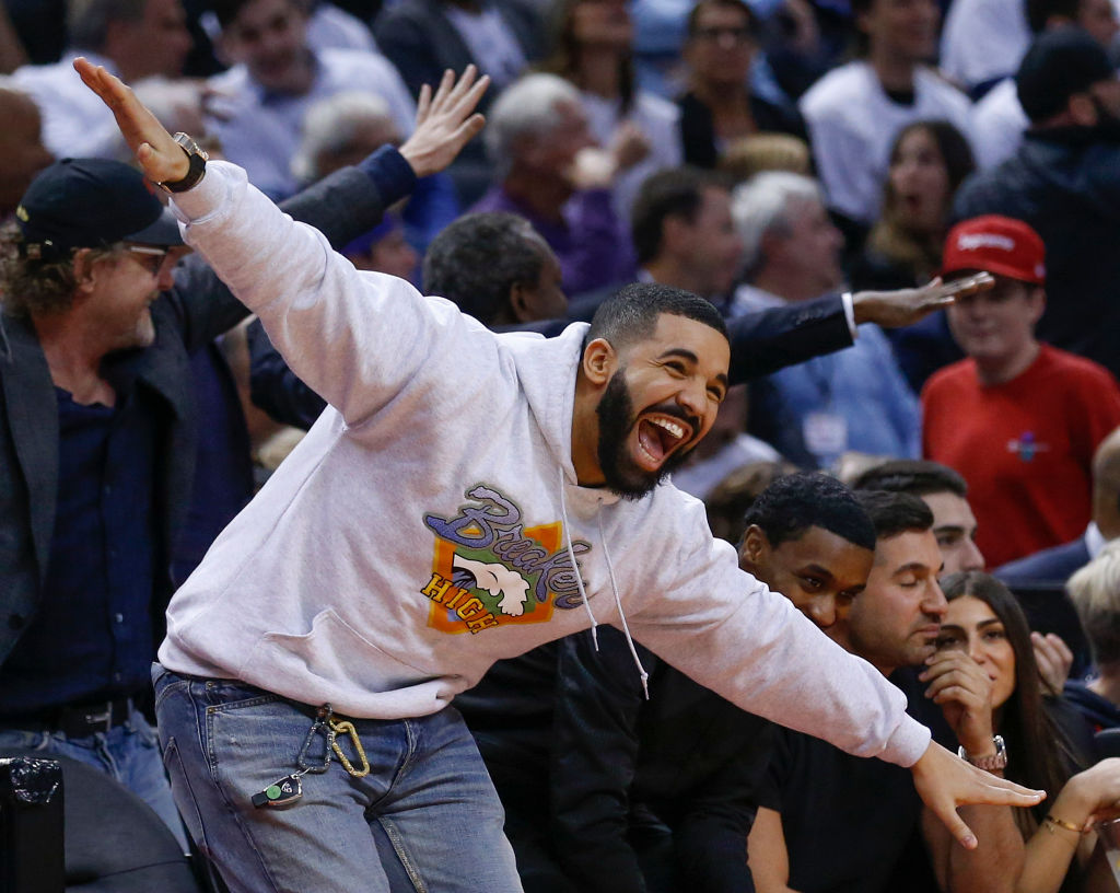 drake mocks Joel Embiid game 5