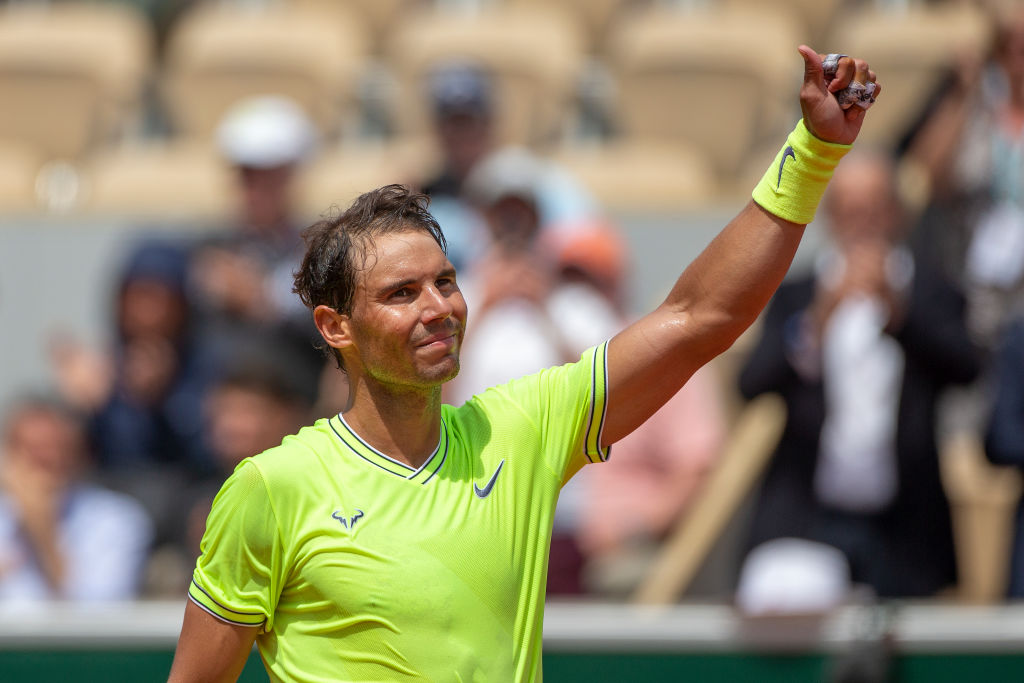 rafal nadal holds the record for mens singles titles at the french open