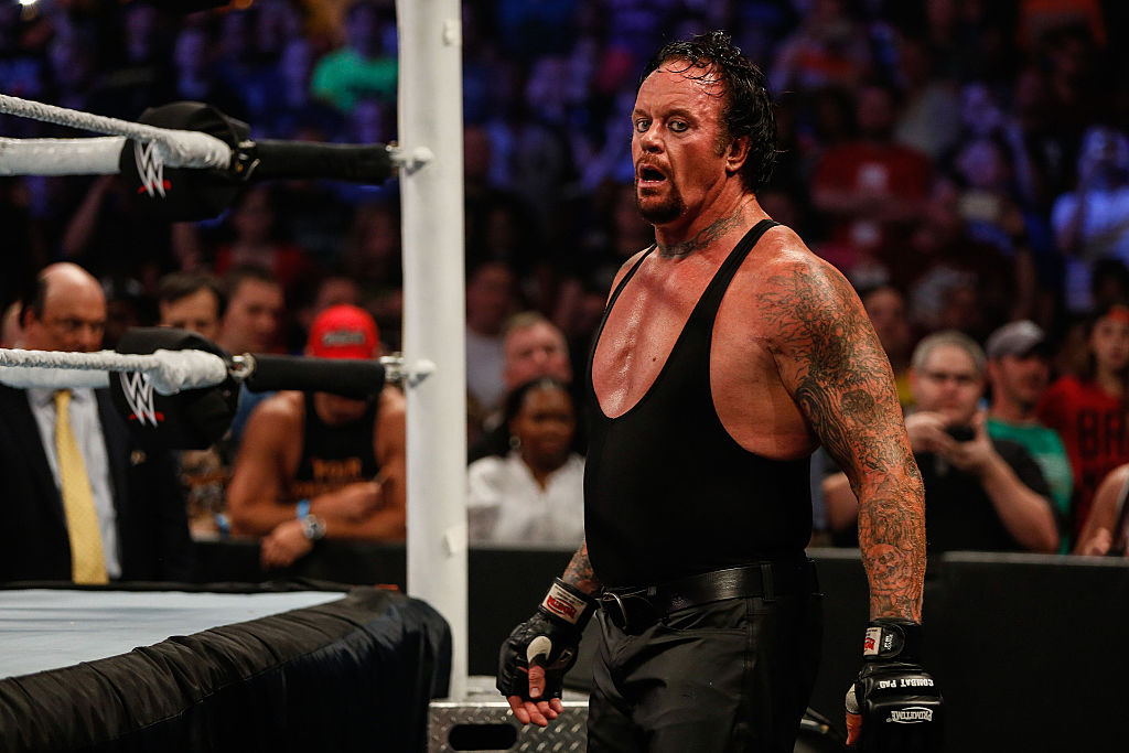 the undertaker greatest wrestler all-time