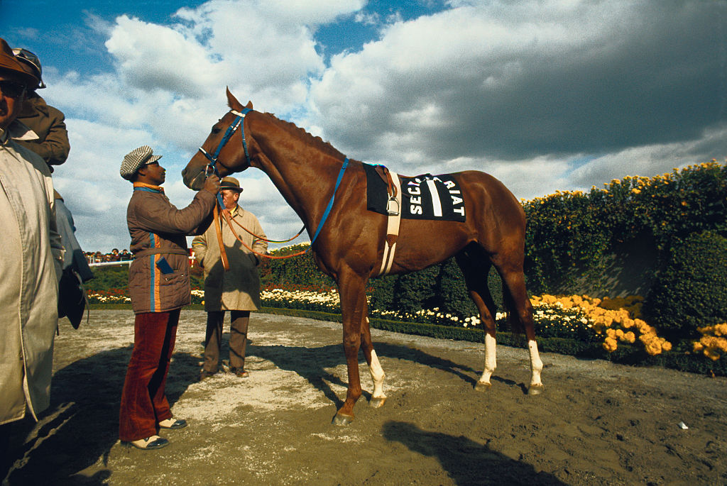 Secretariat had an enlarged heart