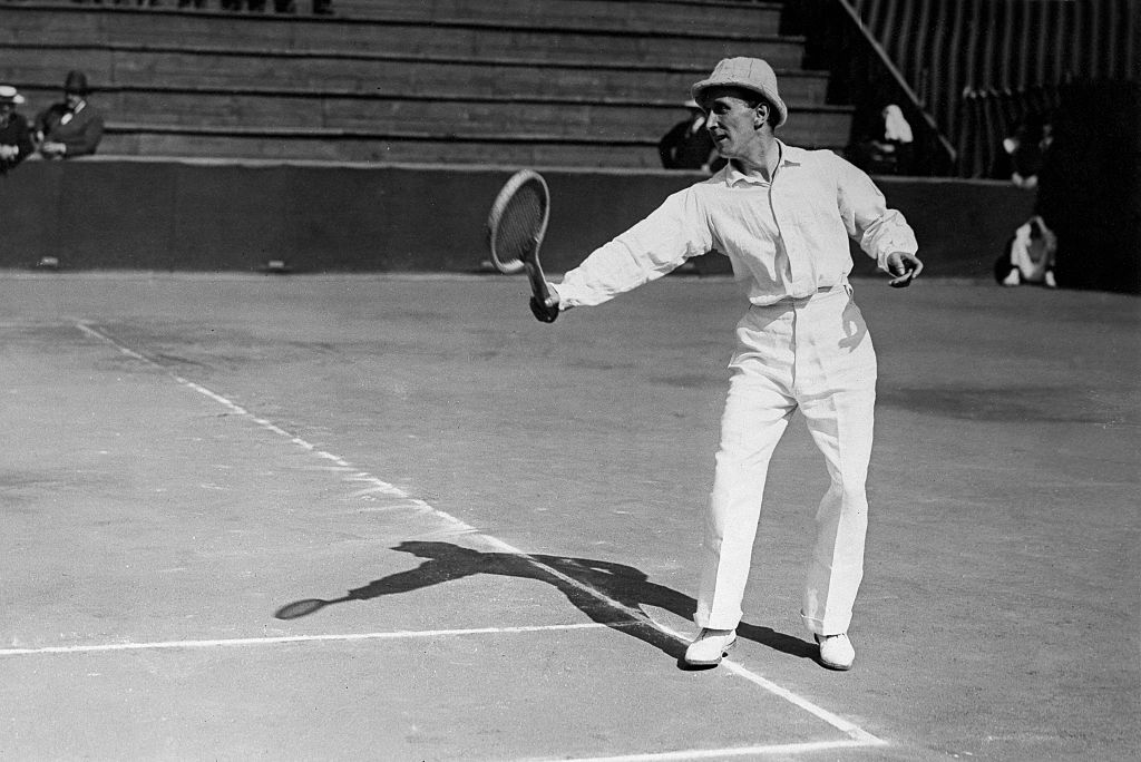maurice germot has won the most consecutive men's doubles titles at the french open.