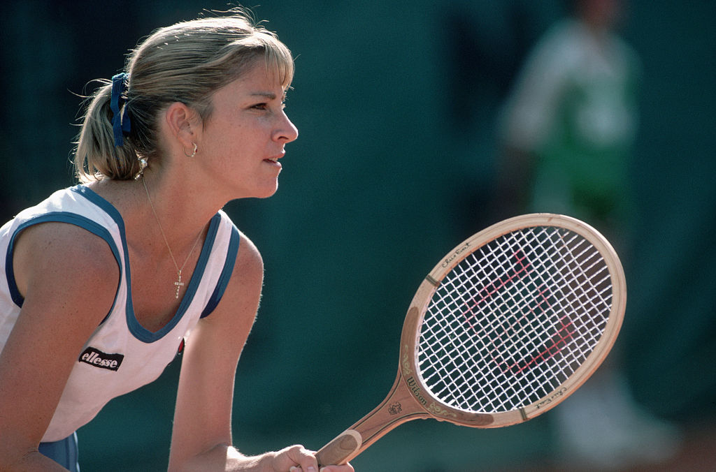 chris evert at the french open has won more women's singes titles than anyone in history