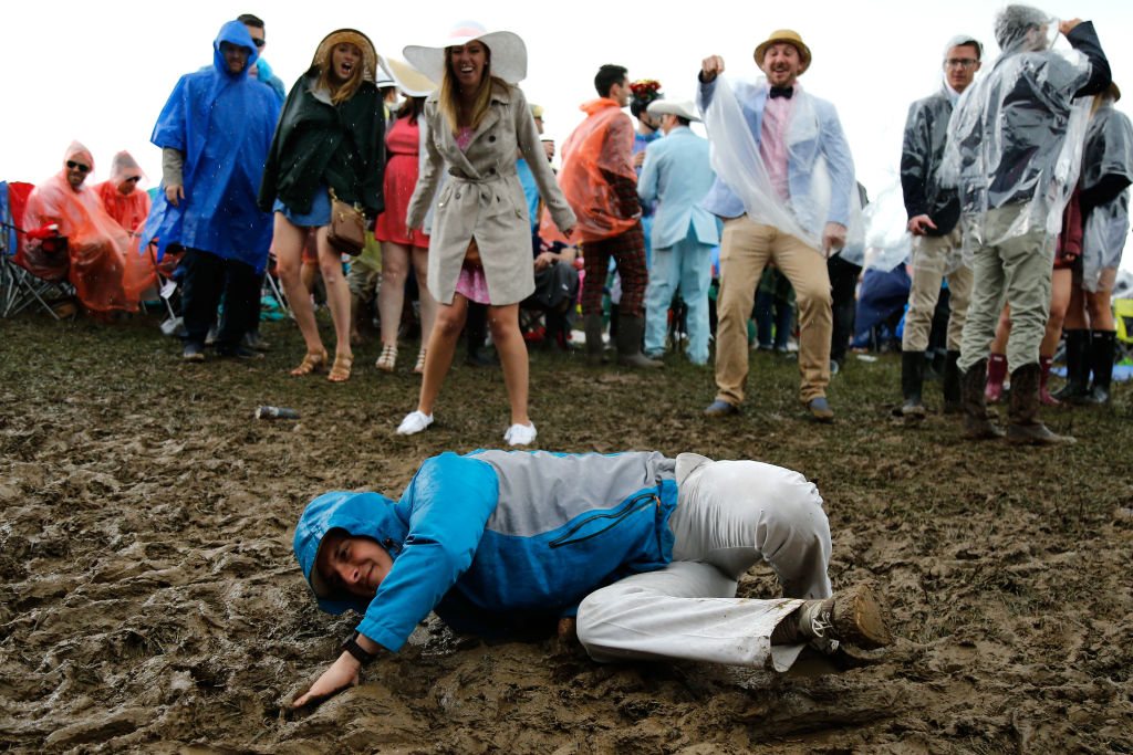 Kentucky Derby Infield