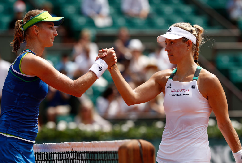 Ekaterina Makarova over Angelique Kerber in the first round