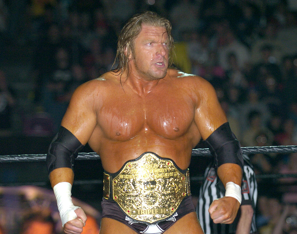 triple h wwe greatest wrestlers all time