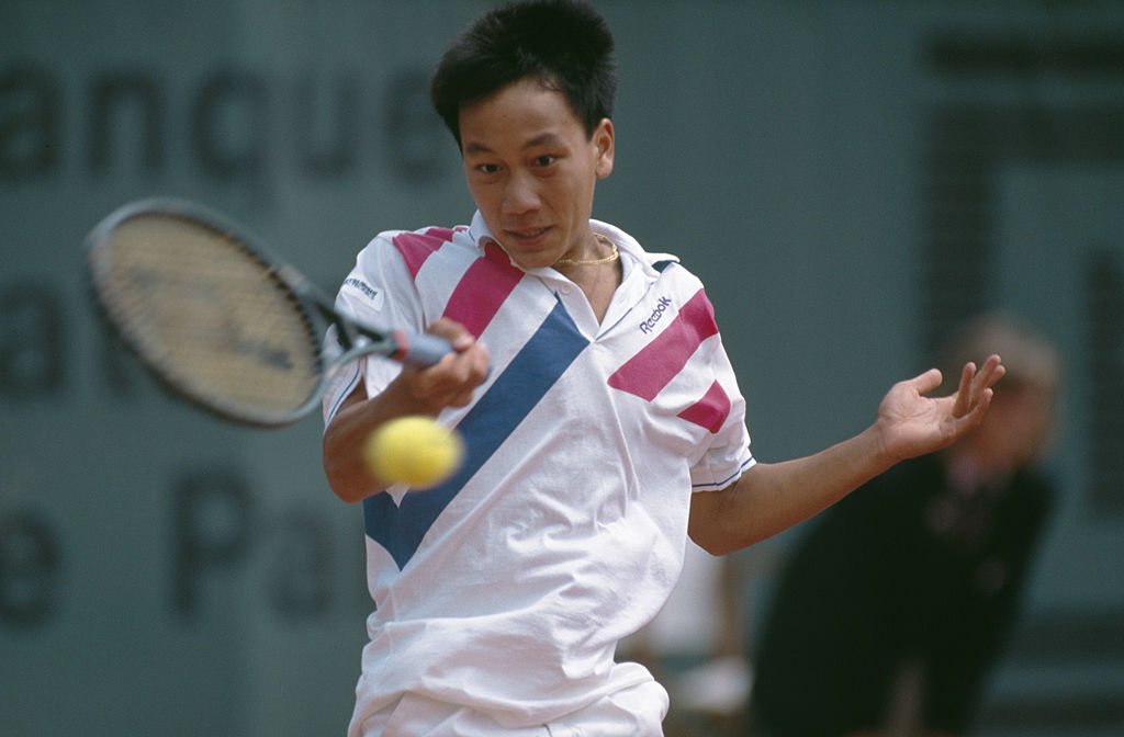 Michael Chang over Ivan Lendl in the fourth round