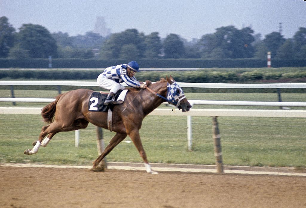 Secretariat Derby Running