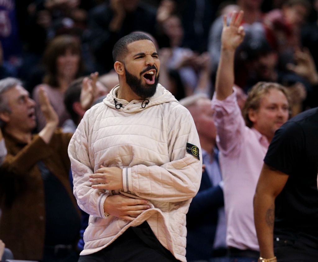 drake mocks durant 2018 missed dunk