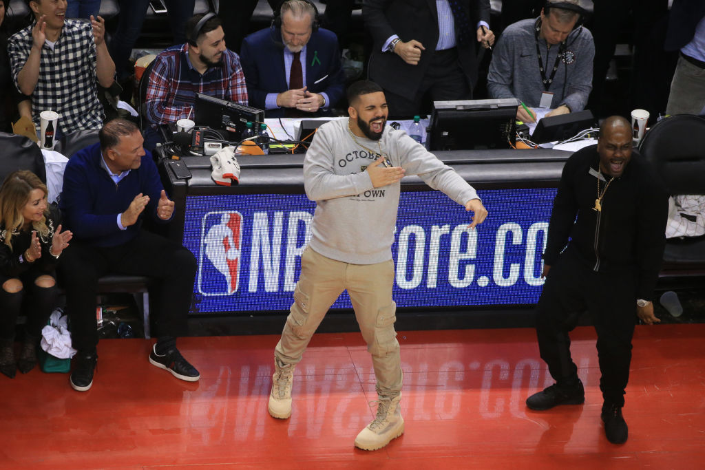 drake raptors playoffs 2018
