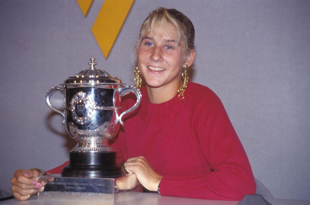 monica seles was the youngest player to ever win the french open at 16 years old