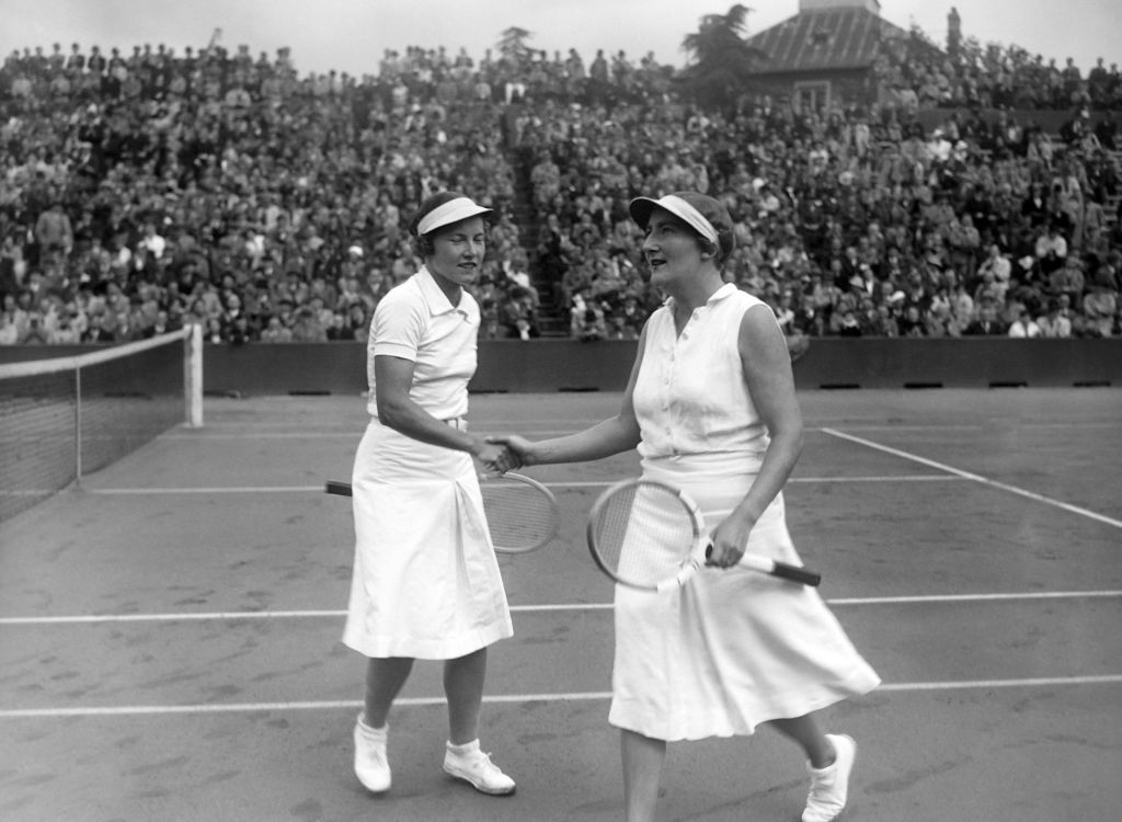 simone mattieu set the original record for most Women's doubles titles matches won at the French Open