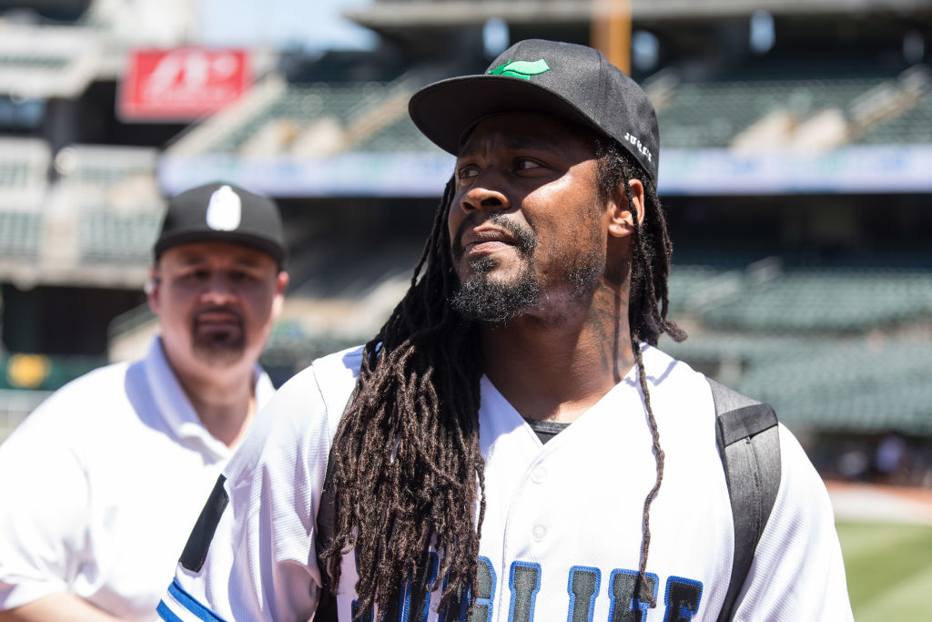 Marshawn Lynch Baseball