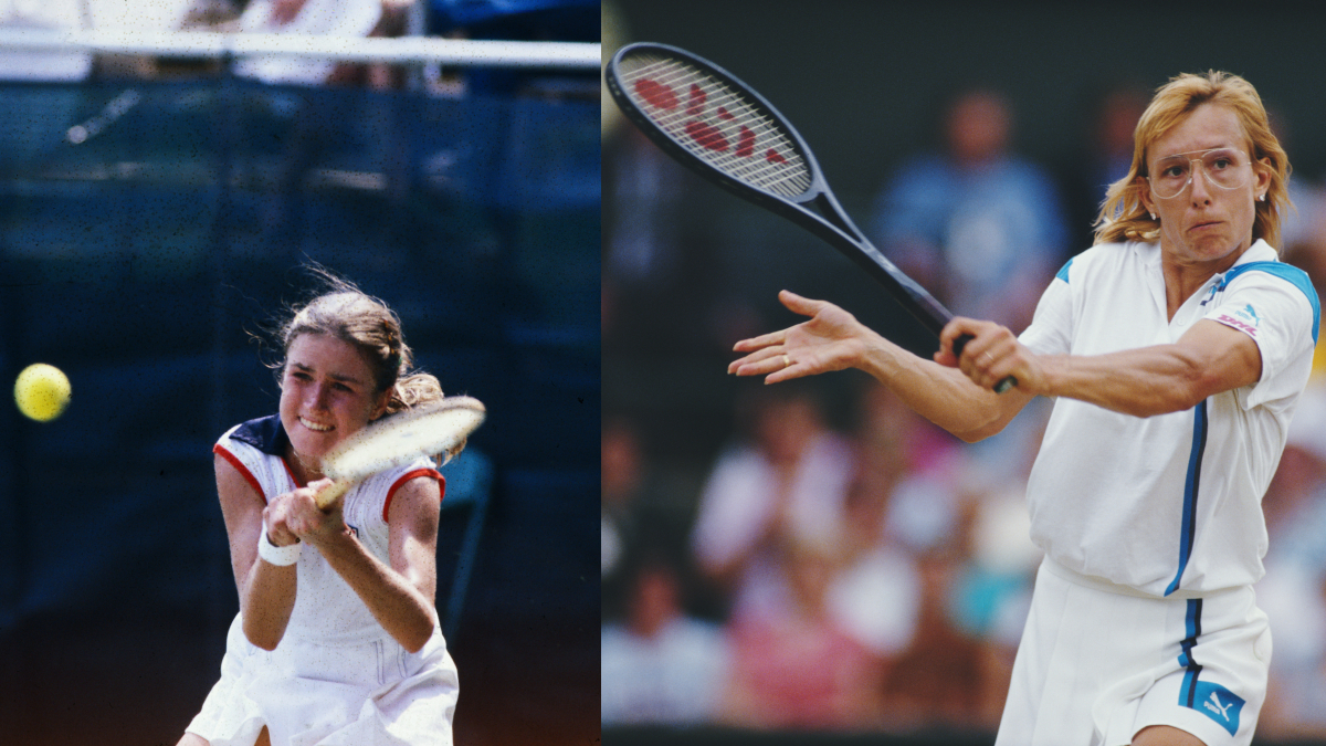 Kathy Horvath over Martina Navratilova in the fourth round
