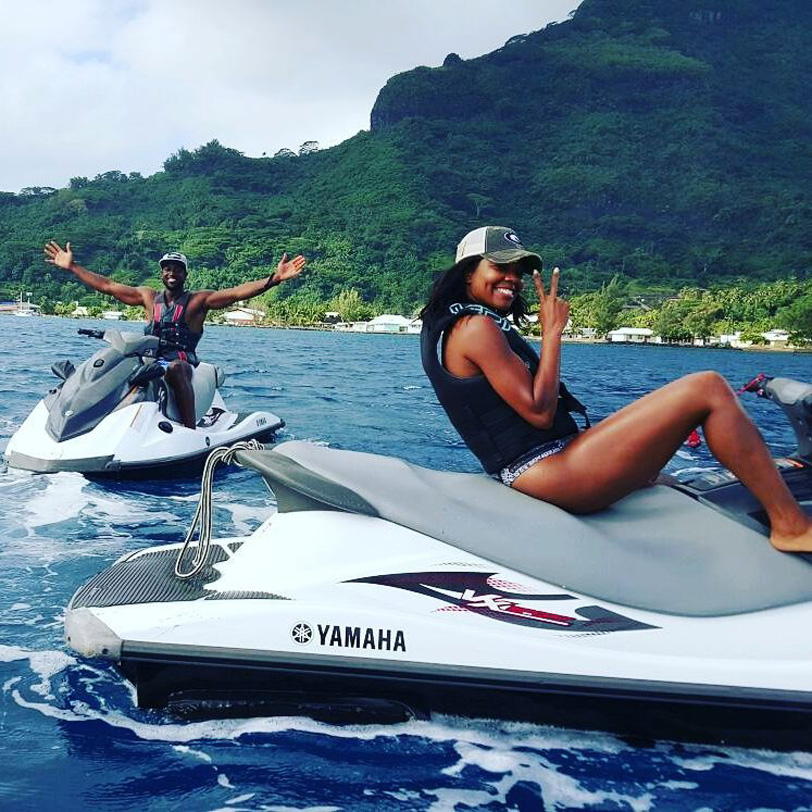 epic honeymoon with dwyane wade and gabrielle union